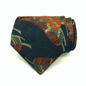 Pierre Balmain Paris Silk Tie Vintage Tropical 248